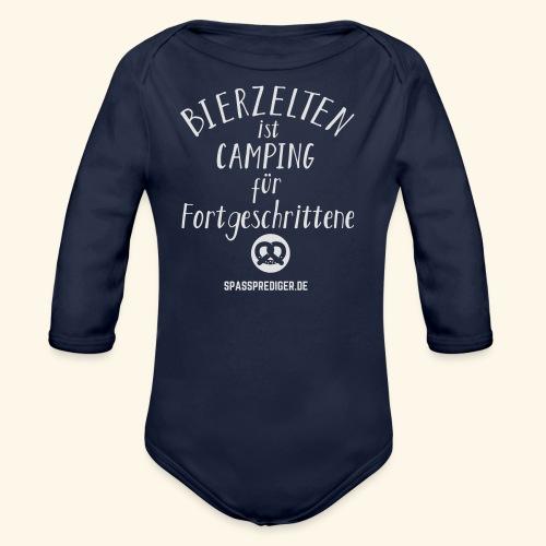 Bierzelten - das Original - Baby Bio-Langarm-Body