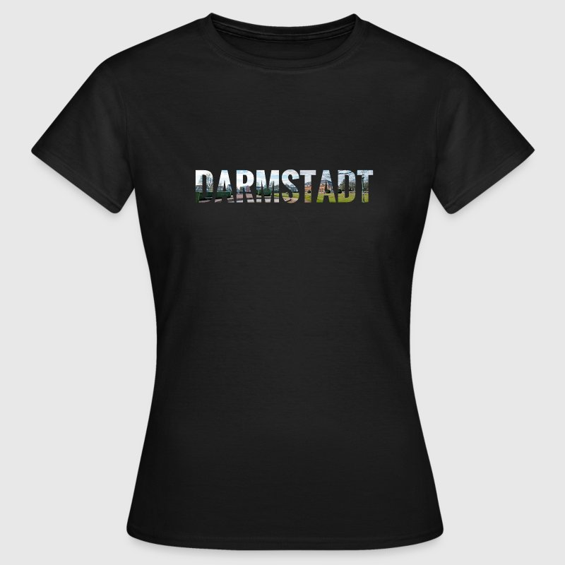 City Skyline Darmstadt T-Shirts - Frauen T-Shirt