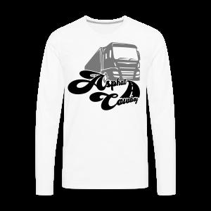 Asphalt Cowboy Shirt - Männer Premium Langarmshirt
