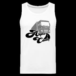 Asphalt Cowboy Shirt - Männer Premium Tank Top