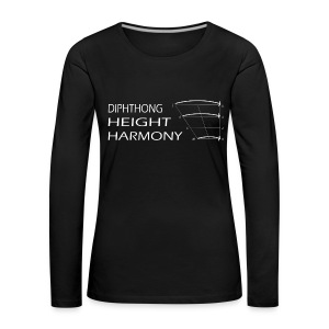 DHH women's purple - Women's Premium Longsleeve Shirt
