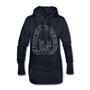 Sweden runestone women's blue - Hoodie Dress