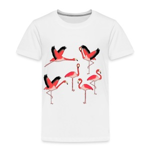 Flamingo selection Baby Long Sleeve Shirts - Kids' Premium T-Shirt