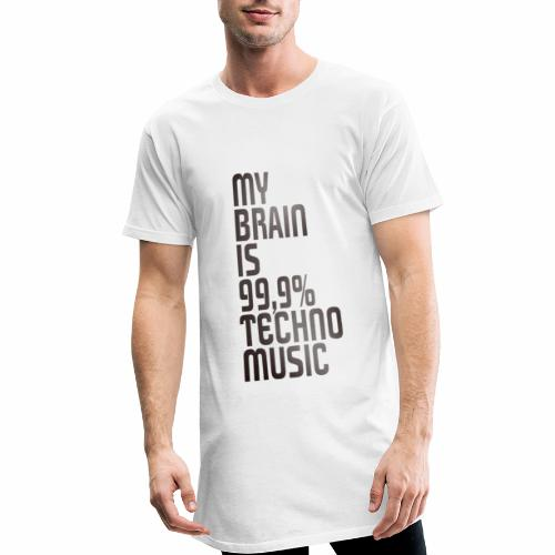 Techno - Männer Urban Longshirt