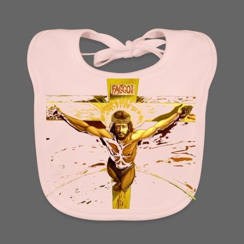 FAGGOT JESUS - Baby økologisk hagesmæk