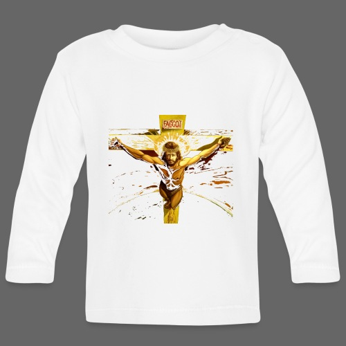 FAGGOT JESUS - Langærmet babyshirt