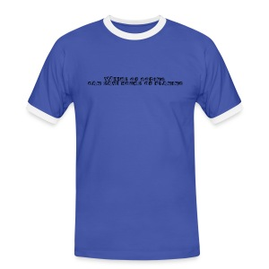 weeks-of-coding - Männer Kontrast-T-Shirt