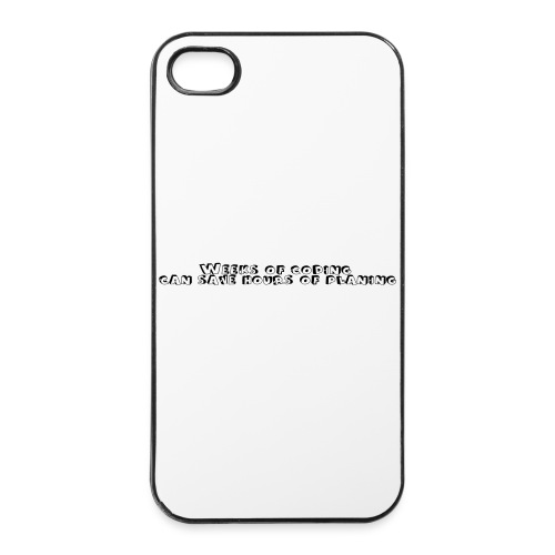 weeks-of-coding - iPhone 4/4s Hard Case