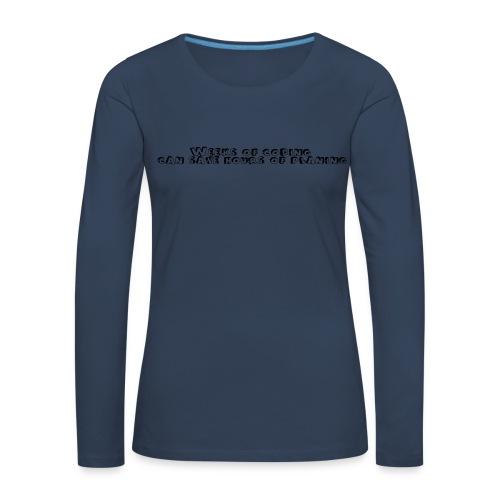 weeks-of-coding - Frauen Premium Langarmshirt