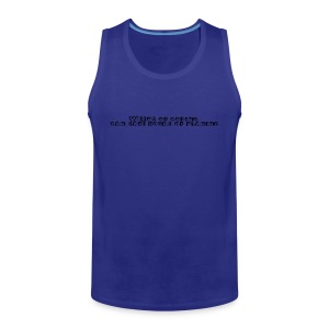 weeks-of-coding - Männer Premium Tank Top