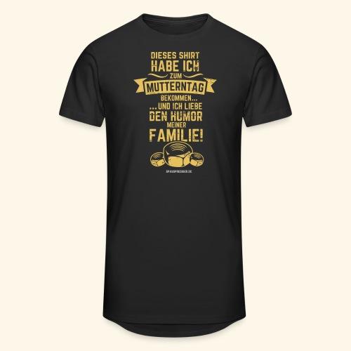 Muttertag - Männer Urban Longshirt