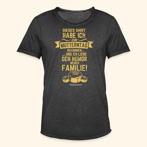 Muttertag - Männer Vintage T-Shirt