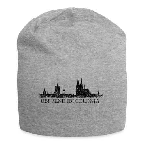 UBI BENE IBI COLONIA Skyline (Vintage Schwarz) Köln Römisch - Jersey-Beanie