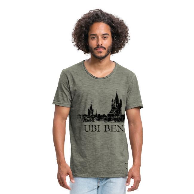 UBI BENE IBI COLONIA Skyline (Vintage Schwarz) Köln Römisch