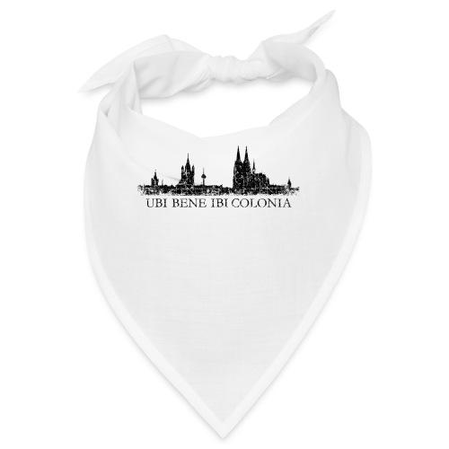 UBI BENE IBI COLONIA Skyline (Vintage Schwarz) Köln Römisch - Bandana