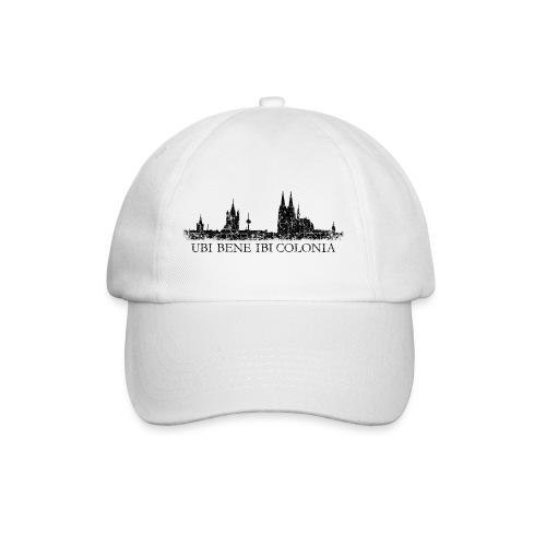 UBI BENE IBI COLONIA Skyline (Vintage Schwarz) Köln Römisch - Baseballkappe