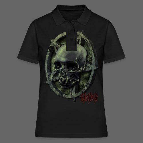 666 Skull - Women's Polo Shirt