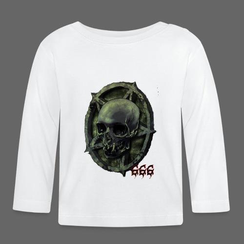 666 Skull - Langærmet babyshirt