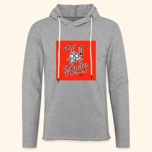 Datt teuflische Prisma (rot) - Leichtes Kapuzensweatshirt Unisex