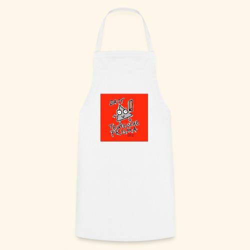 Datt teuflische Prisma (rot) - Kochschürze