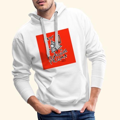 Datt teuflische Prisma (rot) - Männer Premium Hoodie