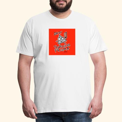 Datt teuflische Prisma (rot) - Männer Premium T-Shirt