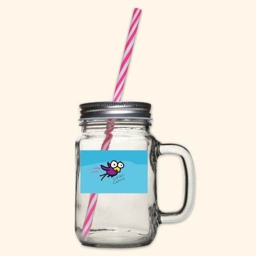 Colibri  - Henkelglas mit Schraubdeckel