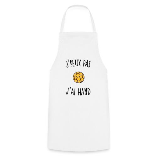 J'PEUX PAS J'AI HAND - Tablier de cuisine