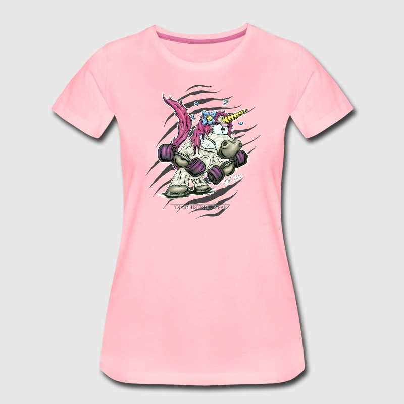 Train like a unicorn T-Shirts - Women's Premium T-Shirt