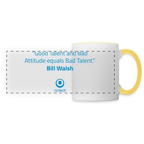 Niptech - Bill Walsh quote T-Shirt - Panoramic Mug