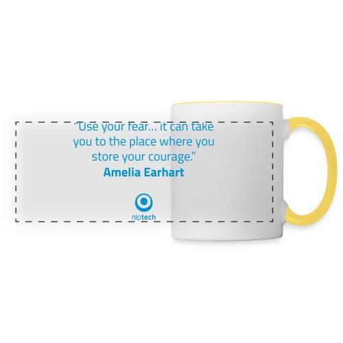 Niptech - Amelia Earhart quote T-Shirt - Panoramic Mug