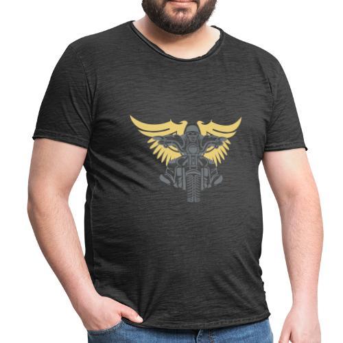 Born To Ride - Camiseta vintage hombre