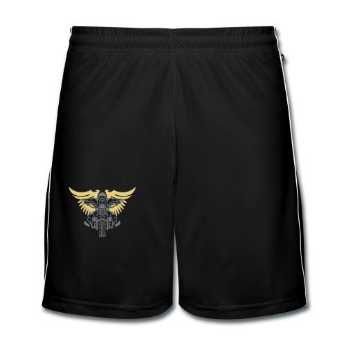 Born To Ride - Pantalones cortos de fútbol hombre