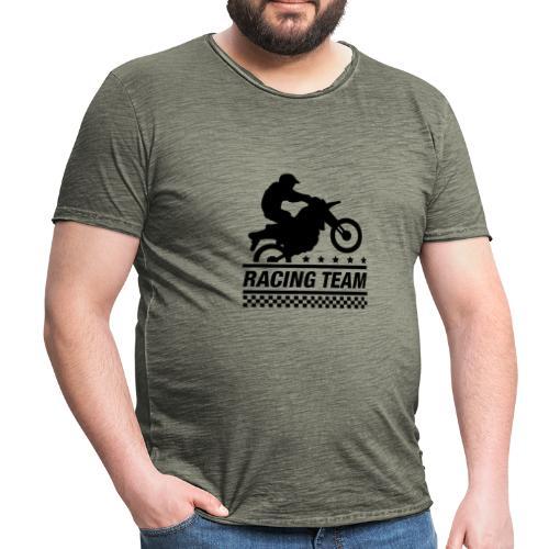 Racing Team - Camiseta vintage hombre