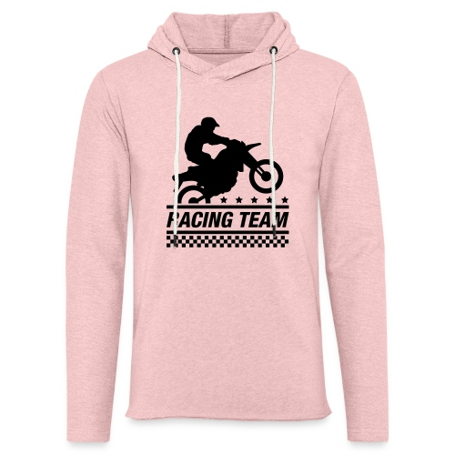 Racing Team - Sudadera ligera unisex con capucha