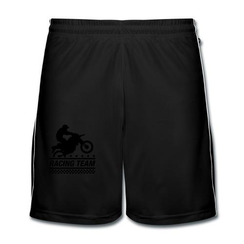 Racing Team - Pantalones cortos de fútbol hombre