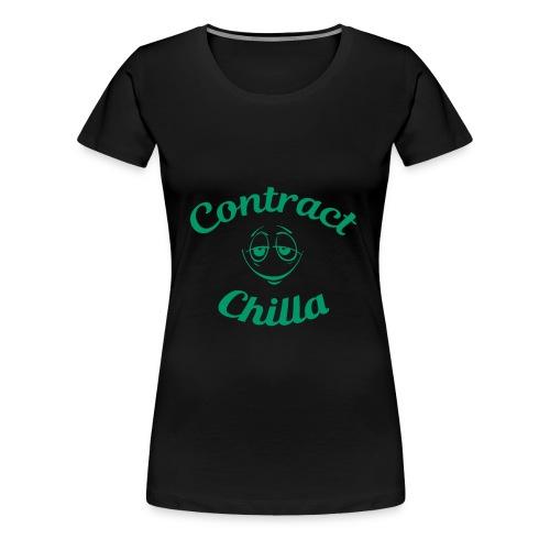 Contract Chilla - Smiley W - Women's Premium T-Shirt