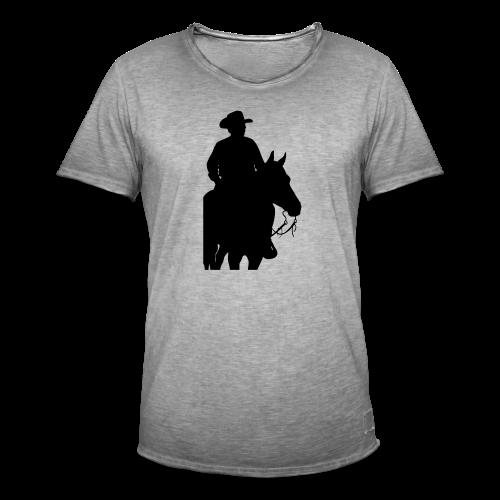 M-139-schwarz - Männer Vintage T-Shirt