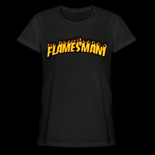 Flasher (Trasher Style) (børne størrelse) - Dame oversize T-shirt