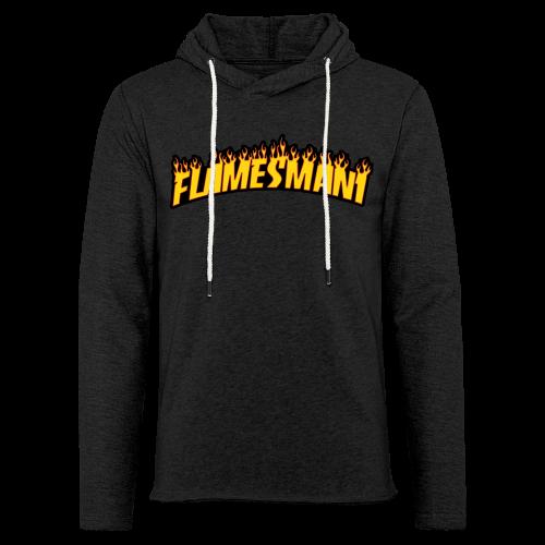 Flasher (Trasher Style) (børne størrelse) - Let sweatshirt med hætte, unisex