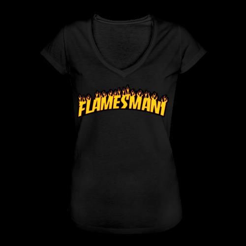 Flasher (Trasher Style) (børne størrelse) - Dame vintage T-shirt