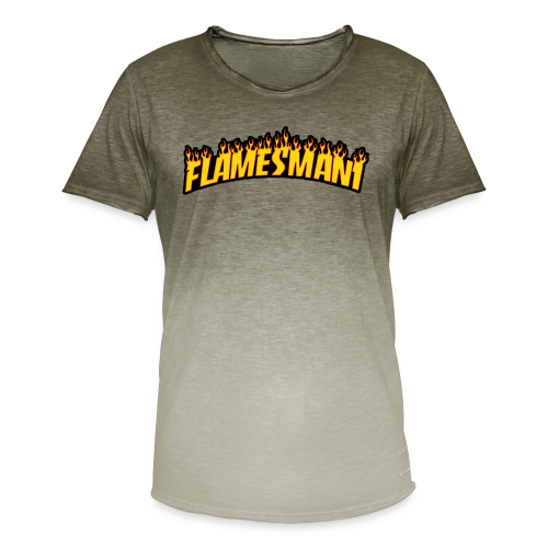 Flasher (Trasher Style) (børne størrelse) - Herre T-shirt i colour-block-optik