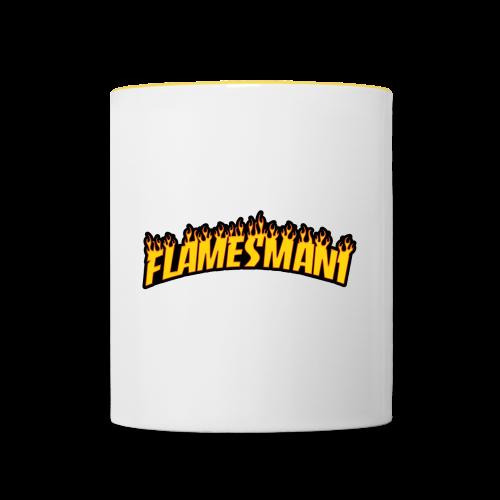 Flasher (Trasher Style) (børne størrelse) - Tofarvet krus