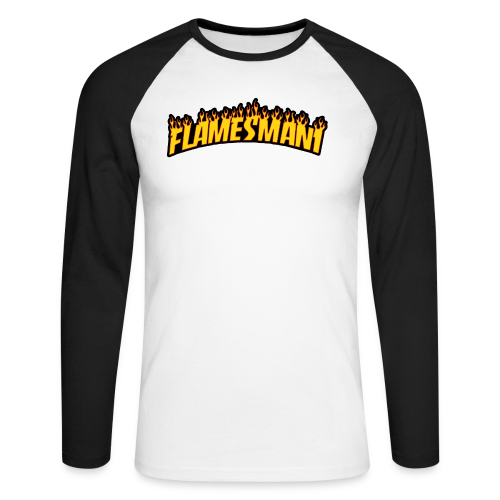 Flasher (Trasher Style) (børne størrelse) - Langærmet herre-baseballshirt
