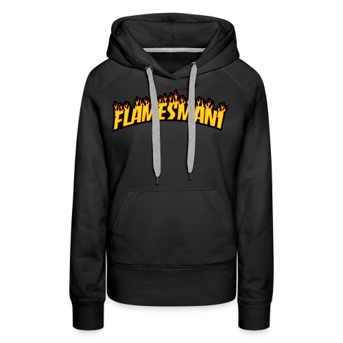 Flasher (Trasher Style) (børne størrelse) - Dame Premium hættetrøje