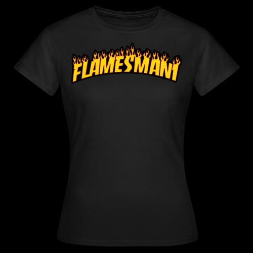 Flasher (Trasher Style) (børne størrelse) - Dame-T-shirt