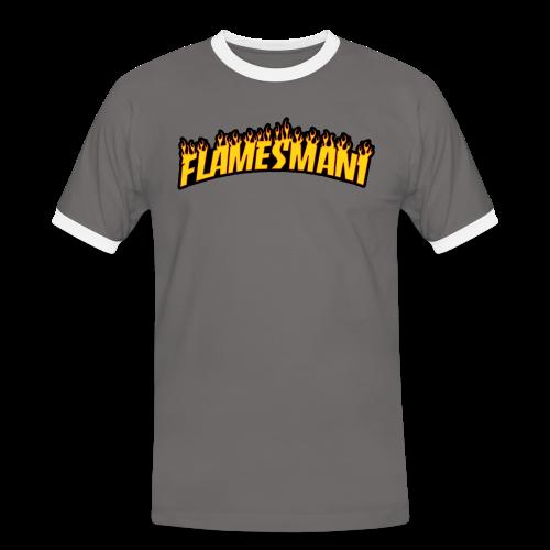 Flasher (Trasher Style) (børne størrelse) - Herre kontrast-T-shirt