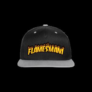 Flasher (Trasher Style) (børne størrelse) - Kontrast snapback cap