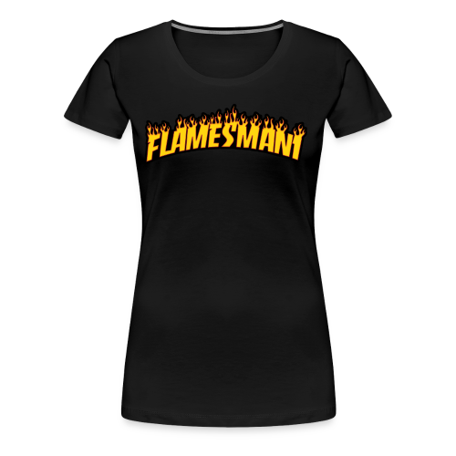 Flasher (Trasher Style) (børne størrelse) - Dame premium T-shirt