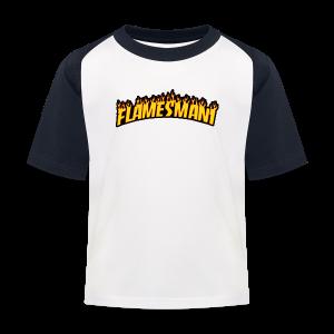 Flasher (Trasher Style) (børne størrelse) - Baseball T-shirt til børn